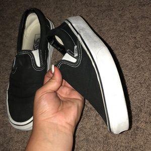 Vans Shoes - Black vans